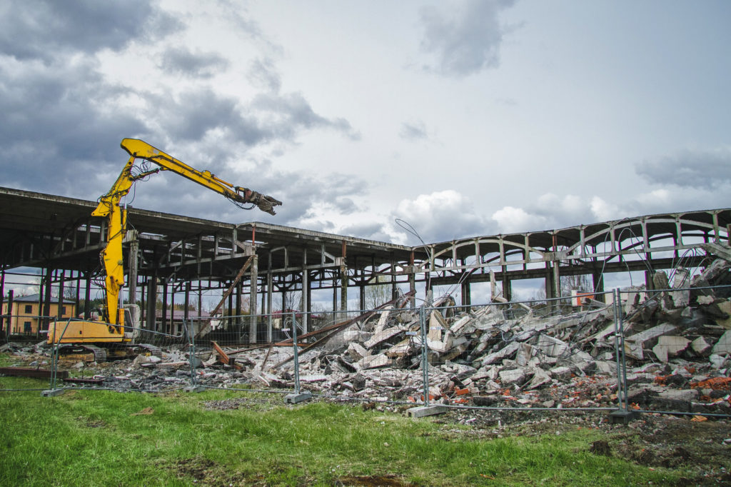 Промышленный демонтаж зданий и сооружений